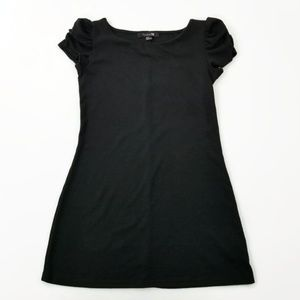 Forever 21 Little Black Dress Cap Sleeves Size M